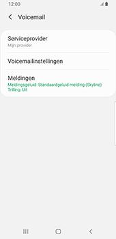 Samsung Galaxy S9 Android Pie - Voicemail - handmatig instellen - Stap 9
