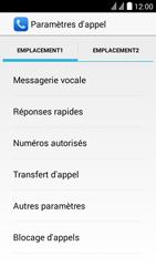 Huawei Ascend Y625 - Messagerie vocale - Configuration manuelle - Étape 6