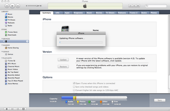 Apple iPhone 4 met iOS 5 - Software - Update installeren via PC - Stap 7
