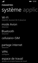 Nokia Lumia 530 - Réseau - Utilisation à l