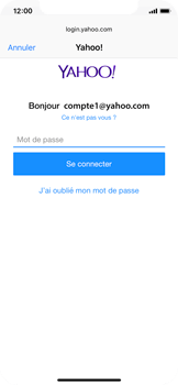 Apple iPhone X - E-mail - Configuration manuelle (yahoo) - Étape 7