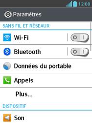 LG E430 Optimus L3 II - Bluetooth - Jumeler avec un appareil - Étape 4