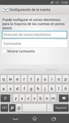 Sony Xperia E4g - E-mail - Configurar correo electrónico - Paso 5