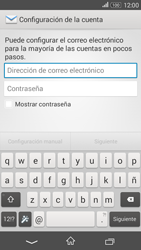 Sony Xperia E4g - E-mail - Configurar Yahoo! - Paso 5