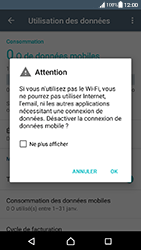Sony Xperia XA - Android Nougat - Internet - activer ou désactiver - Étape 6