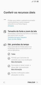 Samsung Galaxy S9 - Primeiros passos - Como ativar seu aparelho - Etapa 20