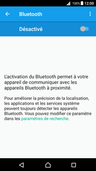 Sony Xperia Z5 Premium - Android Nougat - Bluetooth - connexion Bluetooth - Étape 7