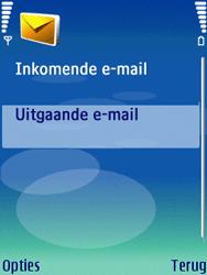 Nokia N73 - E-mail - handmatig instellen - Stap 21