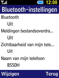 Samsung B550H Xcover 550 - Bluetooth - koppelen met ander apparaat - Stap 8