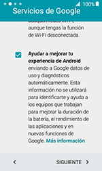 Samsung Galaxy J1 (2016) (J120) - Primeros pasos - Activar el equipo - Paso 14