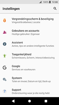Sony Xperia XA2 Ultra - Beveiliging en privacy - Zoek mijn mobiel activeren - Stap 4