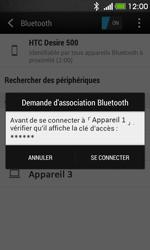 HTC Desire 500 - Bluetooth - connexion Bluetooth - Étape 9