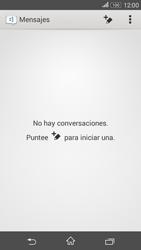 Sony Xperia E4g - Mensajería - Escribir y enviar un mensaje multimedia - Paso 4