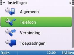 Nokia E5-00 - Bellen - in het buitenland - Stap 5