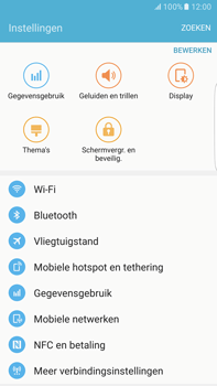 Samsung Samsung Galaxy S6 Edge+ - Android M - Bluetooth - koppelen met ander apparaat - Stap 6