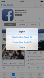 Apple iPhone 6 iOS 8 - Applications - Downloading applications - Step 9