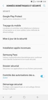 Samsung Galaxy A7 (2018) - Appareil - configurer Localiser mon appareil - Étape 5
