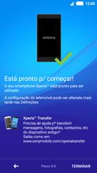 Sony Xperia M4 Aqua - Primeiros passos - Como ligar o telemóvel pela primeira vez -  12