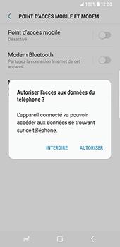 Samsung Galaxy S8 - Internet et connexion - Utiliser le mode modem par USB - Étape 7