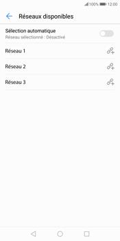 Huawei P Smart - Réseau - Sélection manuelle du réseau - Étape 10