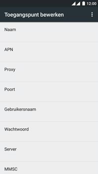 OnePlus 2 - Mms - Handmatig instellen - Stap 9