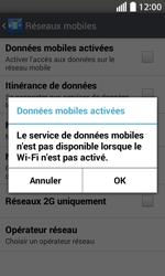 LG L70 - Internet - Activer ou désactiver - Étape 7
