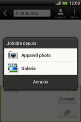 HTC A320e Desire C - MMS - envoi d'images - Étape 9