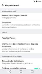 LG G5 - Segurança - Como ativar o código de bloqueio do ecrã -  14