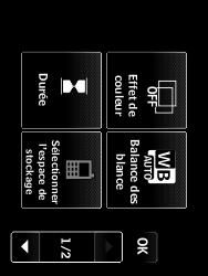 LG T385 - Photos, vidéos, musique - Créer une vidéo - Étape 6