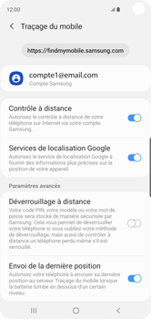 Samsung Galaxy S10 - Appareil - configurer Localiser mon appareil - Étape 9
