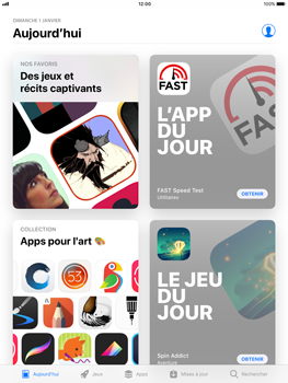 Apple Apple iPad Pro 9.7 - iOS 11 - Applications - Télécharger des applications - Étape 3