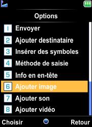 Bouygues Telecom Bc 101 - Contact, Appels, SMS/MMS - Envoyer un MMS - Étape 17