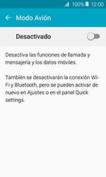 Samsung Galaxy J1 (2016) (J120) - Funciones básicas - Activar o desactivar el modo avión - Paso 5