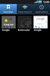 Samsung S5660 Galaxy Gio - Internet - hoe te internetten - Stap 9