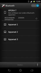 Sony LT30p Xperia T - Bluetooth - koppelen met ander apparaat - Stap 8