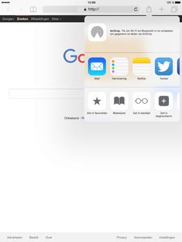 Apple iPad Mini 4 - Internet - Hoe te internetten - Stap 5