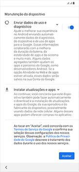 Samsung Galaxy A50 - Primeiros passos - Como ativar seu aparelho - Etapa 13