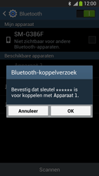 Samsung G386F Galaxy Core LTE - Bluetooth - koppelen met ander apparaat - Stap 9