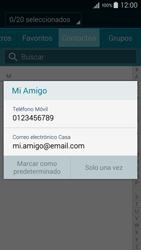 Samsung Galaxy A3 - Mensajería - Escribir y enviar un mensaje multimedia - Paso 7