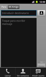 Samsung I8160 Galaxy Ace II - Mensajería - Escribir y enviar un mensaje multimedia - Paso 8