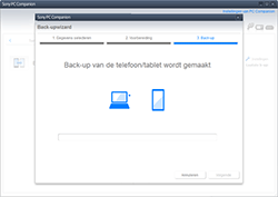Sony SGP321 Xperia Tablet Z LTE - Software - Back-up maken of terugplaatsen - Stap 7
