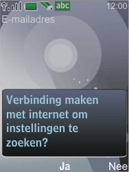 Nokia 7210 supernova - E-mail - Handmatig instellen - Stap 11