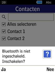 Samsung Xcover 550 (SM-B550H) - Contacten en data - Contacten overzetten via Bluetooth - Stap 9