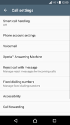 Sony Sony Xperia X (F5121) - Voicemail - Manual configuration - Step 5