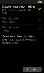 Samsung I8190 Galaxy S III Mini - Primeiros passos - Como ativar seu aparelho - Etapa 10