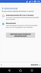 Sony Xperia X Dual SIM (F5122) - Email - Configurar a conta de Email -  20