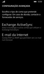 Nokia Lumia 530 - Email - Configurar a conta de Email -  11
