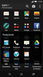HTC One M8s - SMS - configuration manuelle - Étape 4