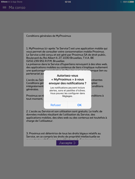 Apple iPad Pro (9.7) - Applications - MyProximus - Étape 11