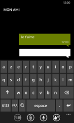 Nokia Lumia 635 - Contact, Appels, SMS/MMS - Envoyer un SMS - Étape 9